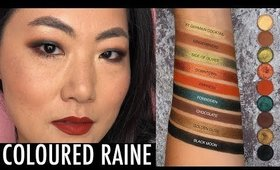 Coloured Raine Sweater Weather look for asian monolid eyes & live swatches I Futilities And More