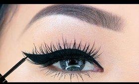 Hooded Eyes Eyeliner Makeup Tutorial for Beginners   3 EASY Steps!