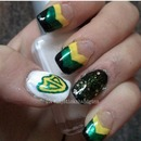 Oregon Ducks Superfan Nails
