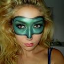 Green Lantern Inspired Make-Up