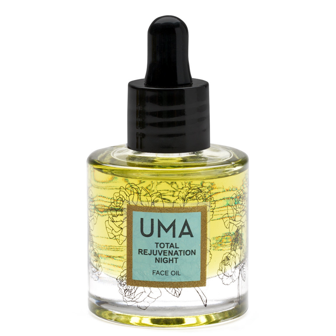 Uma Total Rejuvenation Night Face Oil product swatch.