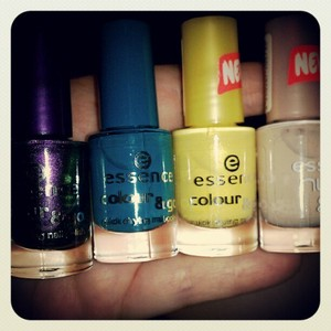 just  new nail polishes I picked up