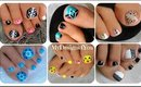 ♥ Toenail Art Compilation No.4 ♥ Compilación de Diseños de Pies