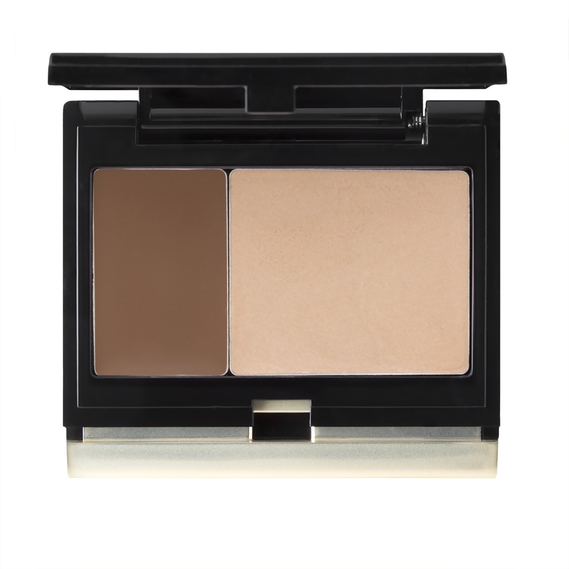 Kevyn Aucoin The Creamy Glow Duo #4 Candlelight/Sculpting product smear.