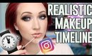 How Long Does Instagram Makeup  ACTUALLY take to do?? | REALISTIC Makeup Time