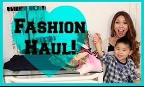 Big Fashion Haul! Shoes, Scarves & Clothes!