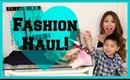 Big Fashion Haul! Shoes, Scarves & Clothes!