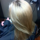 """Natural"" blonde weave"