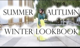 7 Outfits from Summer to Fall to Winter Lookbook | MsLaBelleMel