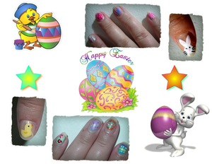 Easter inspired many colors many brands.   :)