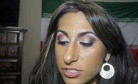 Holiday Cranberry Makeup