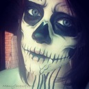 Inspired makeup by zombie boy