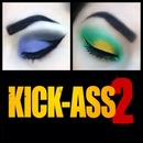 Kick-ass 2 inspired makeup!