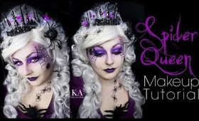 Spider Queen Halloween Makeup Tutorial