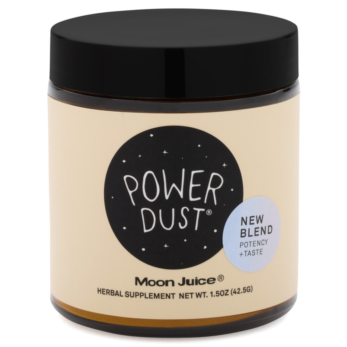 Moon Juice Power Dust product smear.