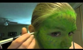 Snake Face Makeup