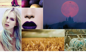 Beauty Mood Board: Haute Harvest