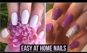 Best at Home Nail Products! Acrylic Nails at Home, Cuticle Remover, Press On Nails, Nail Polish!