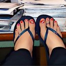 My Toes At The Office