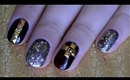 Easy Studded Nail Art Design