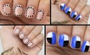 Nail Art for Dummies: 3 QUICK & EASY Nail Art Designs!