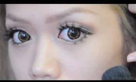 Nana Suzuki inspired make up