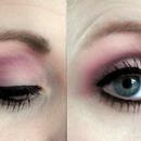Pink & Purple Eye Look