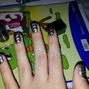 Magnetic nail art
