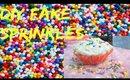 Diy Fake Sprinkles For Crafts!!°☆.。°☆.。