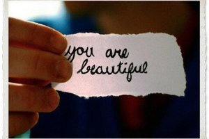 Never allow anyone to tell you are not beautiful because you are not a size 0.