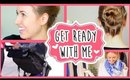 Get Ready with Me || Quick Post-Workout Look! ♥ All Things Hair