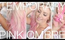 DIY Pink Ombre Hair ♡ Kevin Murphy Color Bug! Temporary Hair Color