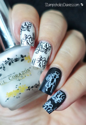 http://stampoholicsdiaries.com/2015/10/26/mr-mrs-nails-with-el-corazon-colors-by-llarowe-loreal-mundo-de-unas-and-mj/