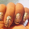 Sally Hansen: Antiqued Gold + Orly: Star Of Bombay