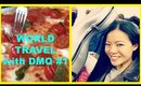 World Travel Wtih DMQ # 1- Journey To Italy & Cruise