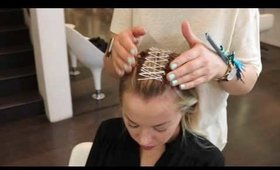 How To : Modern Day Braided Bun with Egle Miciene