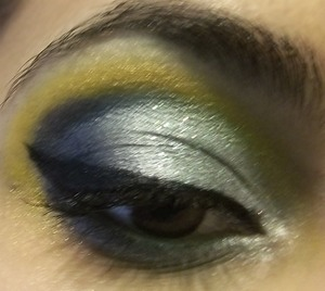 Shimmery look based off of Cinderella. The title is a song in the musical.