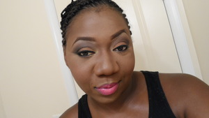 Soft and Sultry! To top off with Pink Lips!