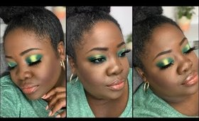 What Should I Name This Look? | Green EyeShadow Tutorial
