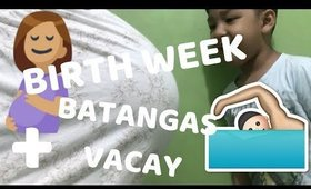 Birth Week + Our Batangas Vacation | Team Montes