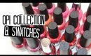 O.P.I Collection & Swatches - Corals & Reds   NAIL POLISH WEEK!