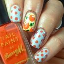 Fruity Spotty Nail Art