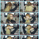 Low Bun tutorial with hair extensions