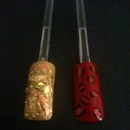 Gold Glory & Red Leopard