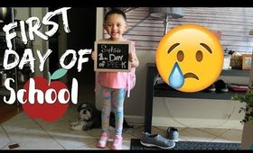 Sophia's First Day of School | First Day Of Pre K