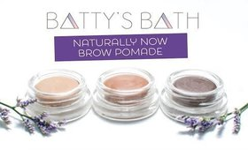 Naturally Now Brow Pomade Tutorial: Fill and prep your eyebrows naturally!