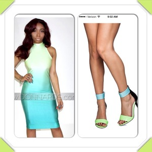This is my 2nd look. Dress from Great Glam & shoes also by Jeffrey Campbell!