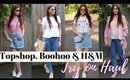 Topshop, Boohoo & H&M Try On Haul | How I Style Transition Pieces