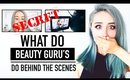 What BEAUTY GURUS do BEHIND THE SCENES ♥ Off Camera Secrets Revealed ♥ Wengie