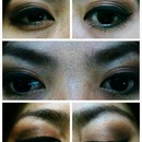 eye make-up trial and error session (1)